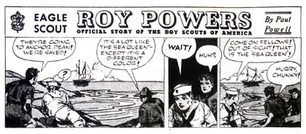 Roy Powers, by Francis Godwin