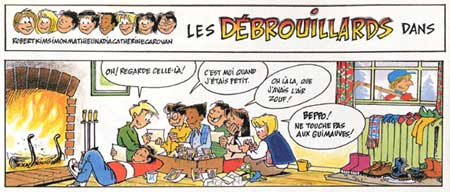 Les Débrouillards, by Jacques Goldstyn