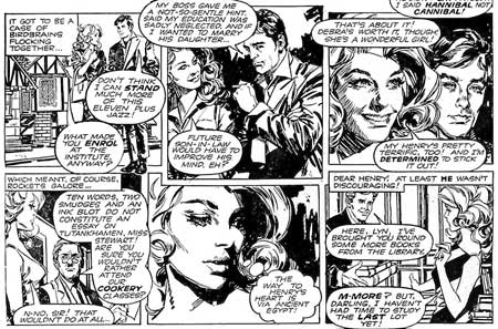 romance comic from Valentine, by Jose Gonzalez