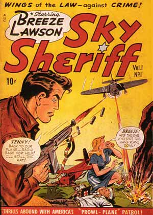 Sky Sheriff, by Edmond Good (1948)