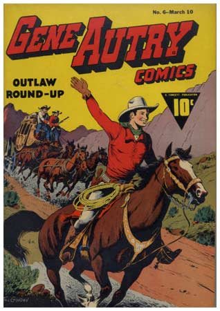 Gene Autry, by Till Goodan