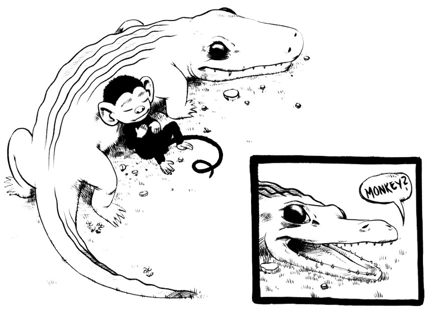 The Monkey and the Crocodile, by Robert Goodin