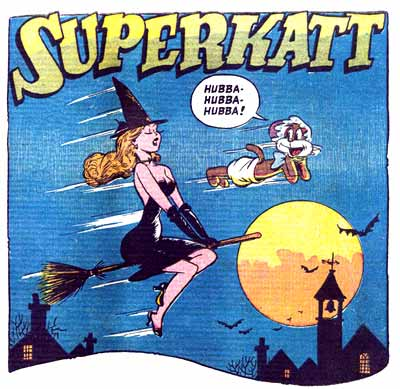 Superkatt, by Dan Gordon