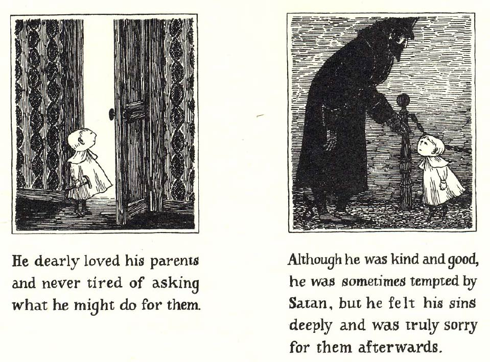 The Pious Infant by Edward Gorey