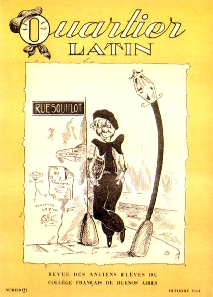 Cover for Quartier Latin, by René Goscinny 1944
