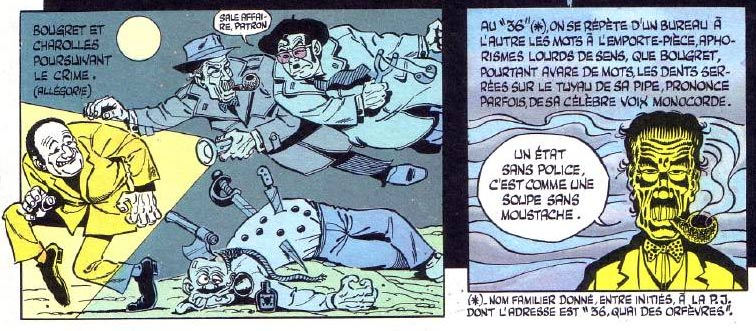 Commissaire Bougret by Gotlib