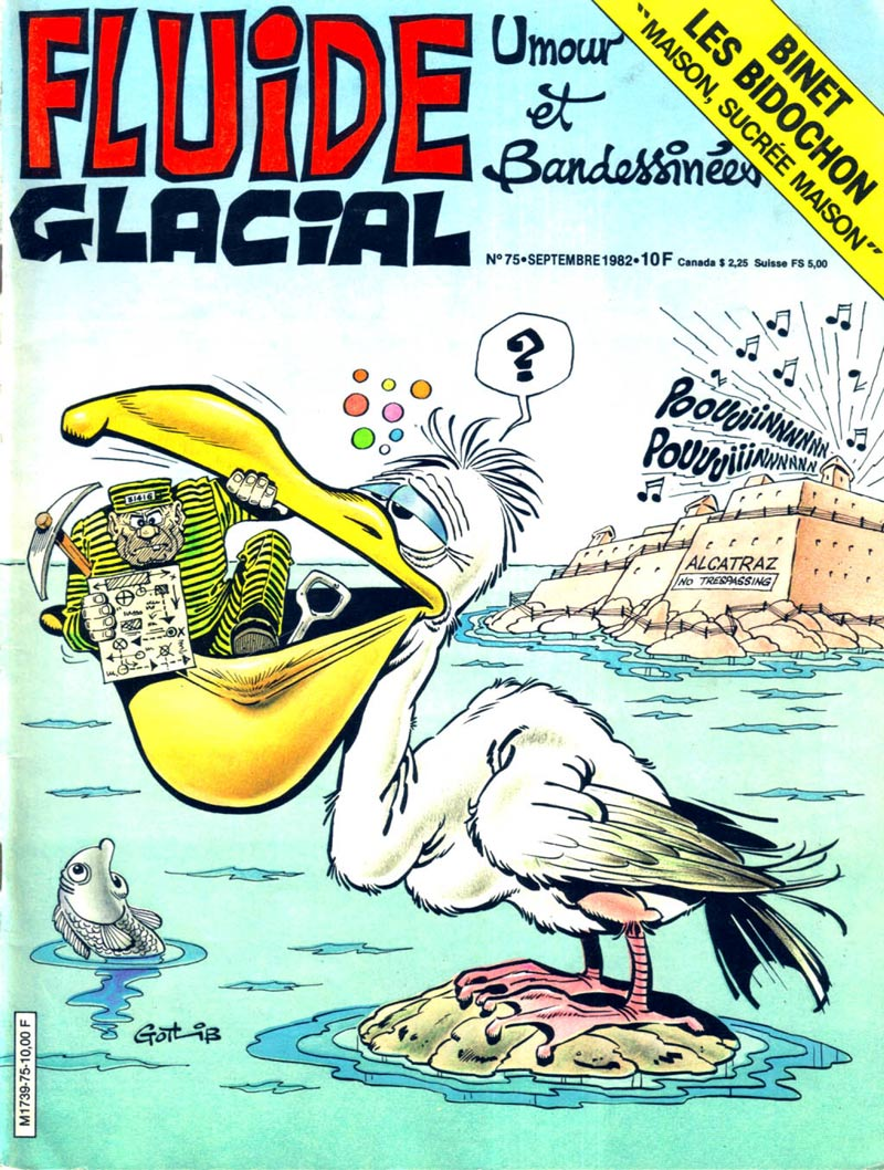 Superdupont is a superhero based entirely on french stereotypes - Fluide Glacial 75