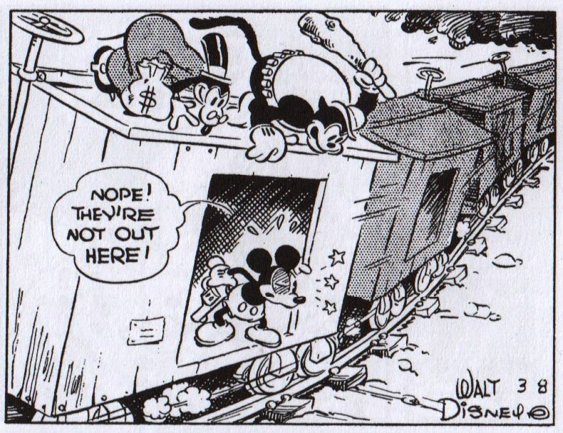 Mickey Mouse, by Floyd Gottfredson