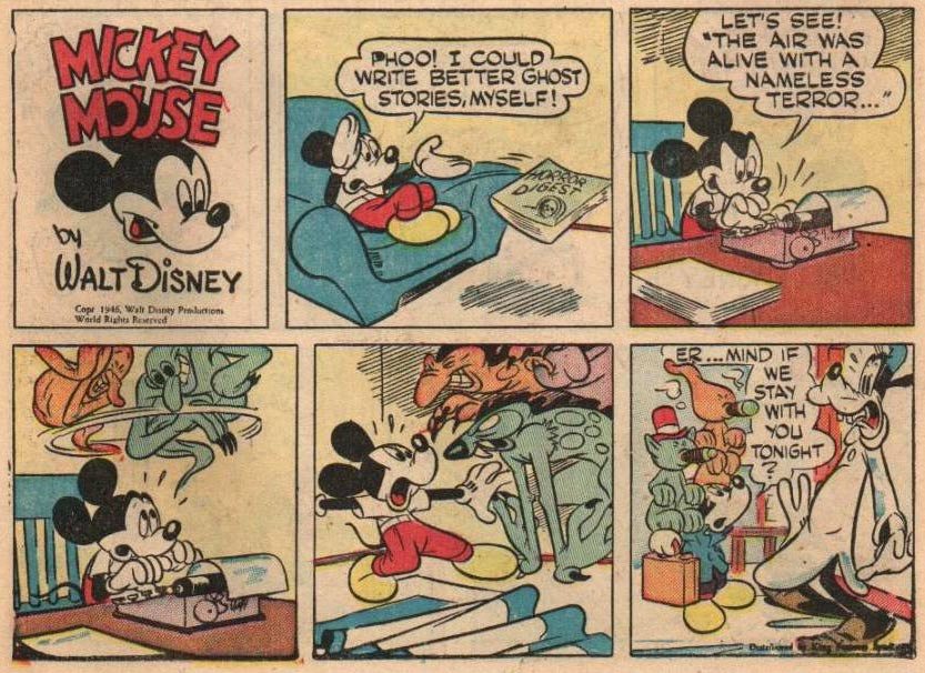 Mickey Mouse by Floyd Gottfredson
