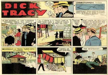 Dick Tracy, by Chester Gould
