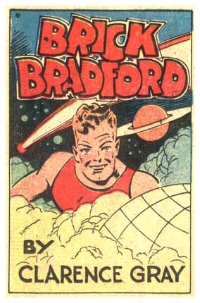 Brick Bradford, by Clarence Gray, 1940