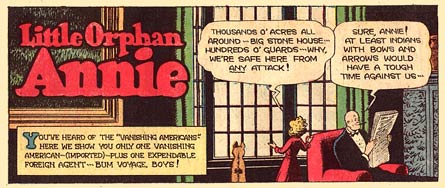 Little Orphan Annie, by Harold Gray (1950)