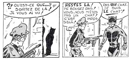 Le Chat, by Greg