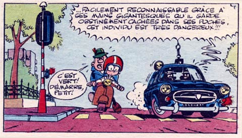 Les As, by Greg (Pif Gadget #9, 21/4/1969)