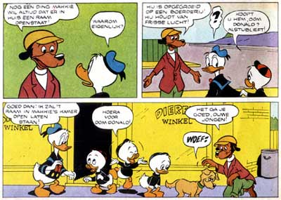Donald Duck, by Bob Gregory
