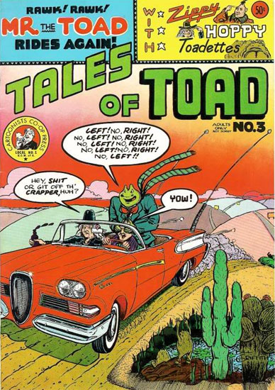 Tales of Toad by Bill Griffith