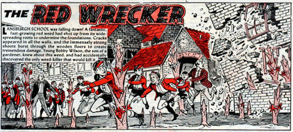 The Red Wrecker by Charles Grigg