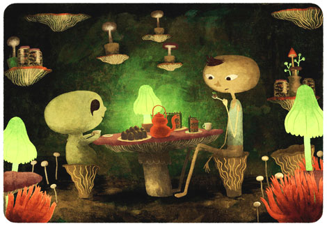 Underground Teaparty by Chuck Groenink