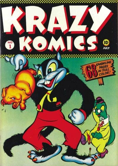 cover for Krazy Komiks