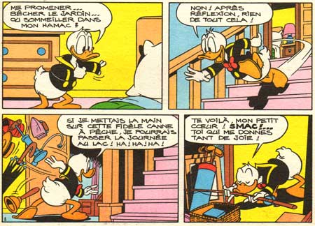 Donald Duck, drawn by Josep Gual (D6840)