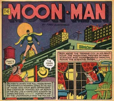 The Moon Man, by Fred Guardineer