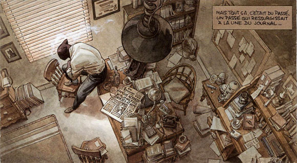 Blacksad, by Juanjo Guarnido