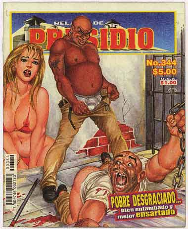 Relatos de Presidio #344, art by Felix Guzman (4-6-2001)