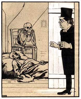 comic art by Albert Hahn 1904