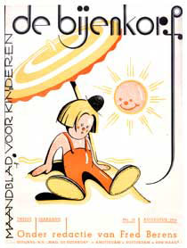 De Bijenkorf, cover by Albert Hahn Jr. 1934