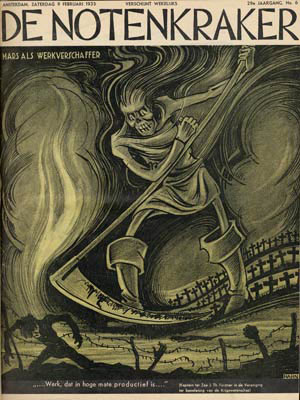 Cover for De Notenkraker, by Albert Hahn jr. 1935