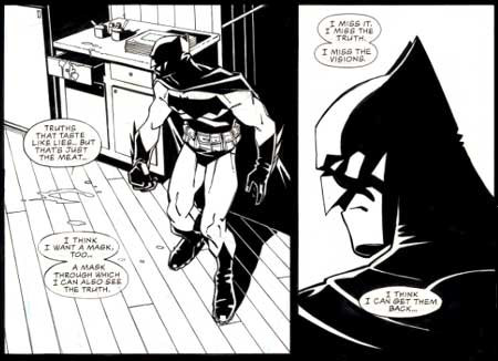 Batman: Tenses, by Cully Hamner