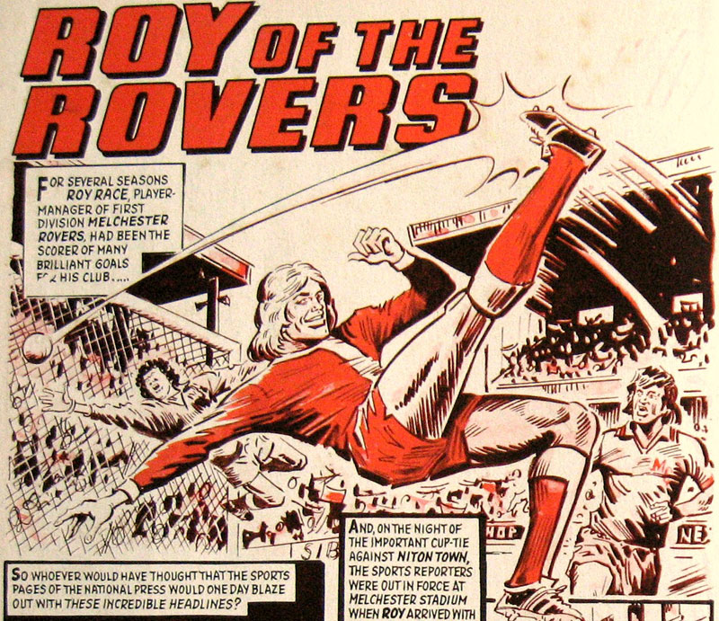 Roy of the Rovers by Tony Harding