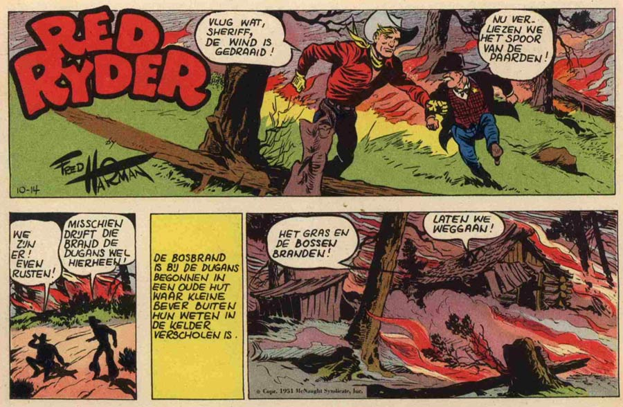 Red Ryder, by Fred Harman (1945)