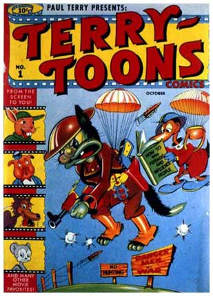 cover for Terrytoons, by Ernie Hart