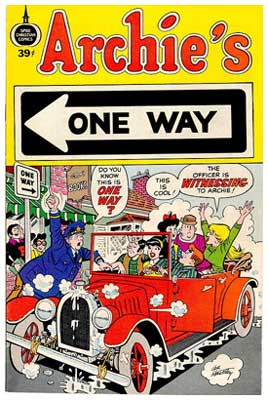 Archie's One Way, by Al Hartley