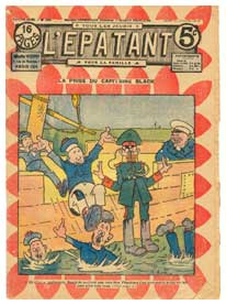 A cover for L'Epatant, by B. Hatt