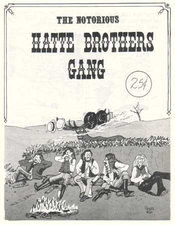 The Notorious Hatte Brothers Gang by Basil Hatte