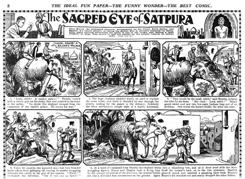 The Sacred Eye of Satpura by Georg Heath