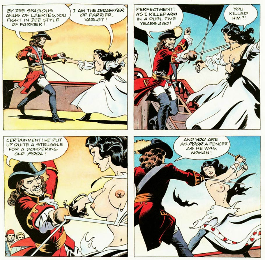 Mistress of the Seas, by Russ Heath (Penthouse Men's Adventure Comix)