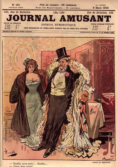 Le Journal Amusant #141, by Henriot (1902)