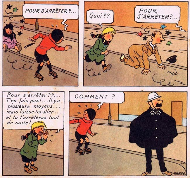 Quick et Flupke by Herge