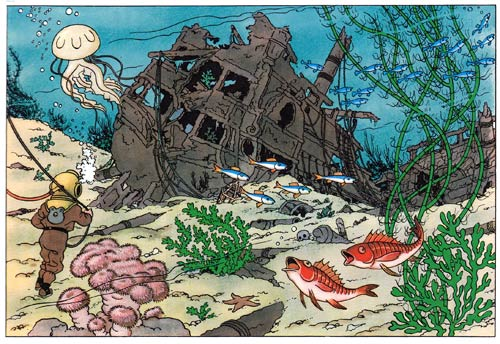 Tintin - Red Rackham's Treasure