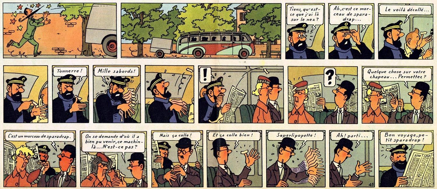 tintin in the land of the soviets color pdf