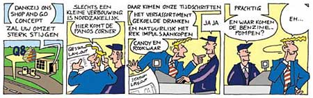 Strip for Q8, by Auke Herrema