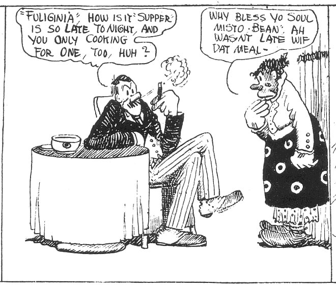 Pity, that name of george herrimans comic strip opinion you
