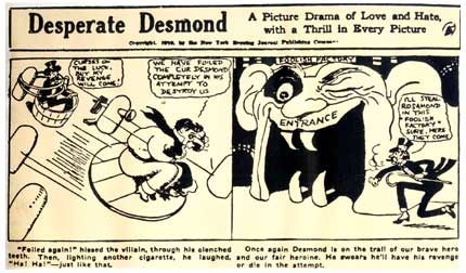 Desperate Desmond, Harry Hershfield