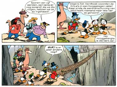Donald Duck, by Mau Heymans