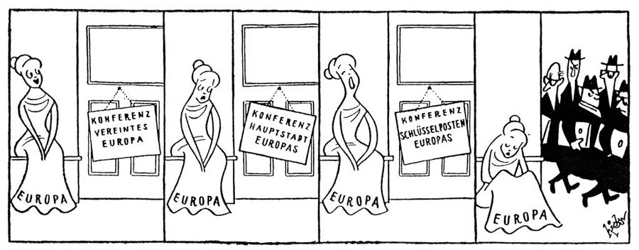 Cartoon by Wolfgang Hicks