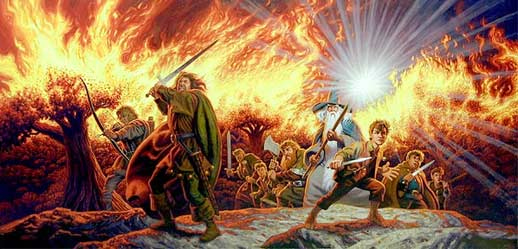 Lord of the Rings, by Greg and Tim Hildebrandt