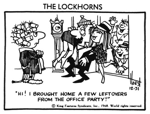 The Lockhorns, by Bill Hoest
